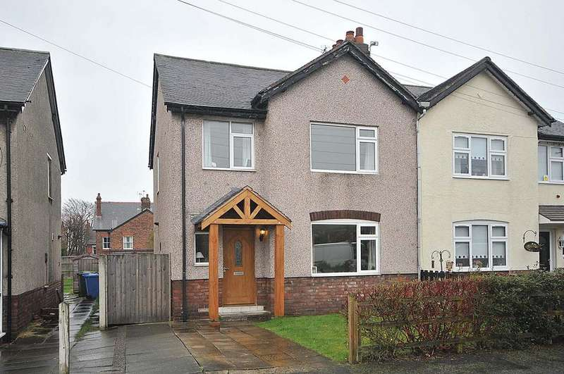 3 Bedrooms Semi Detached House for sale in East Avenue, Stockton Heath