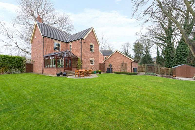 4 Bedrooms Detached House for sale in Wyken Court, North Road, Ripon