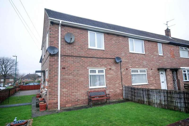2 Bedrooms Flat for sale in Cornwall Road, Hebburn