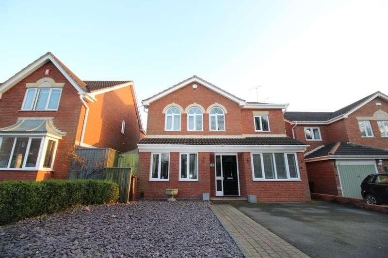 4 Bedrooms Detached House for sale in Linnet Hill, Mickleover, Derby, DE3