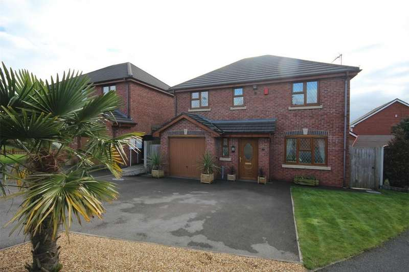 4 Bedrooms Detached House for sale in Glebe Gardens, Cheadle, Staffordshire