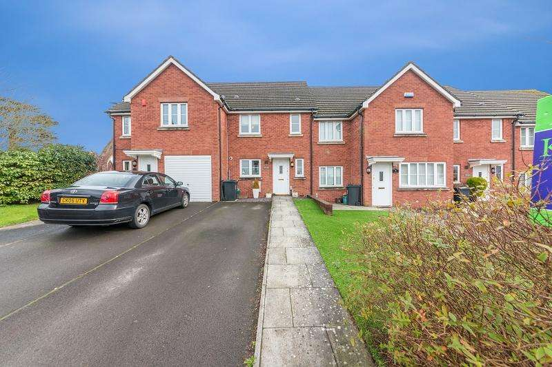 3 Bedrooms Terraced House for sale in Stelvio Park Drive, Newport, Newport. NP20 3EL