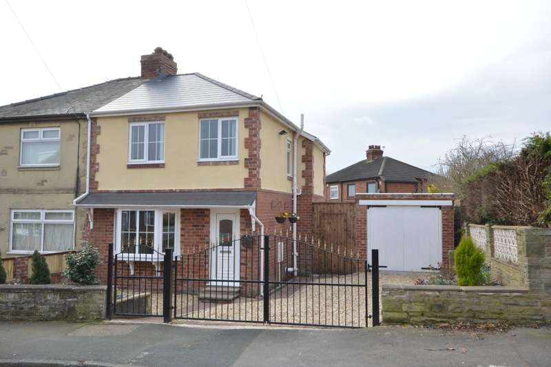 3 Bedrooms Semi Detached House for sale in Park Avenue, Lofthouse, Wakefield
