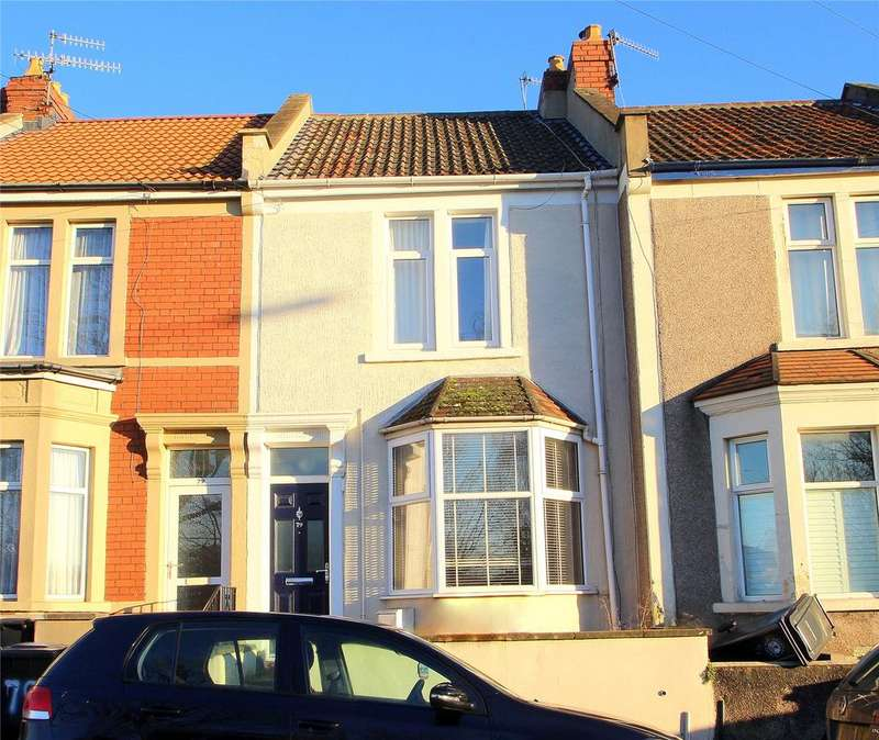 2 Bedrooms Terraced House for sale in Luckwell Road, Ashton, BRISTOL, BS3