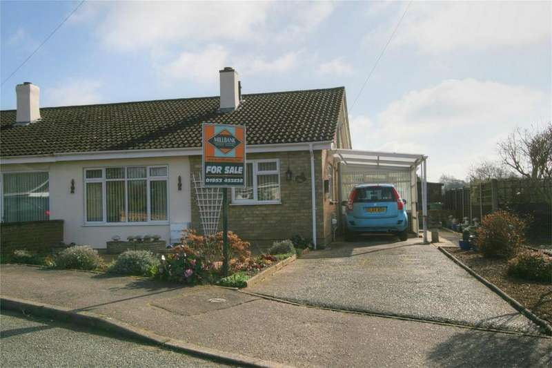 2 Bedrooms Semi Detached Bungalow for sale in Poplar Way, Attleborough, ATTLEBOROUGH, Norfolk
