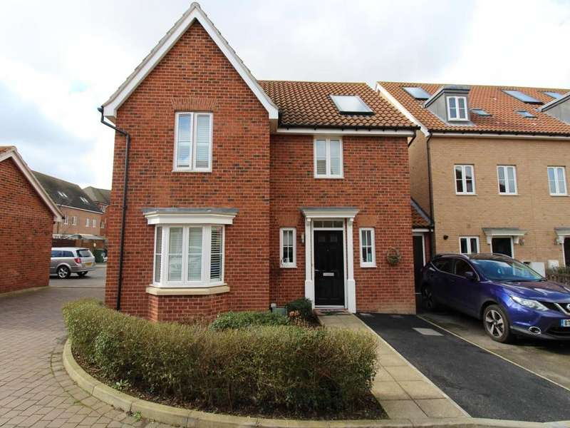 4 Bedrooms Detached House for sale in Chaplin Mews, Witham, Essex, CM8