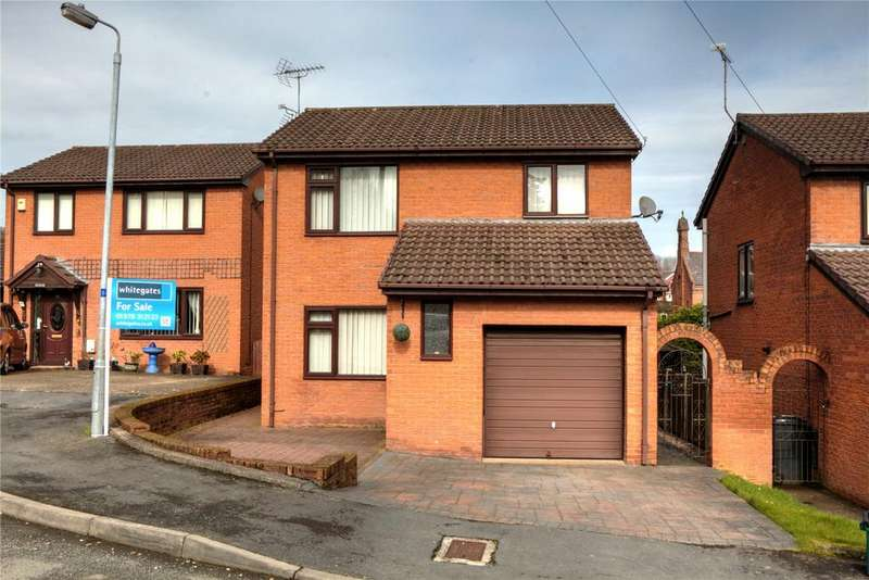 3 Bedrooms Detached House for sale in St Albans Heights, Tan Y Fron, Wrexham, LL11