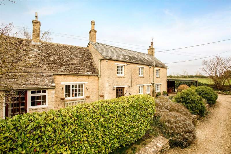 4 Bedrooms Detached House for sale in Kencot, Lechlade, Oxfordshire, GL7