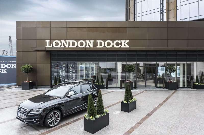 2 Bedrooms Flat for sale in London Dock, Wapping, London, E1W