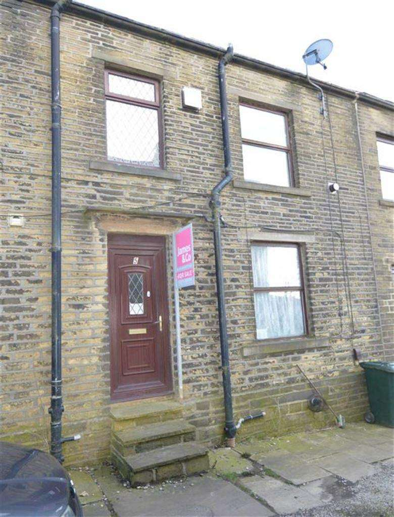 2 Bedrooms Terraced House for sale in Russell Street, Queensbury BD13, Queensbury Bradford