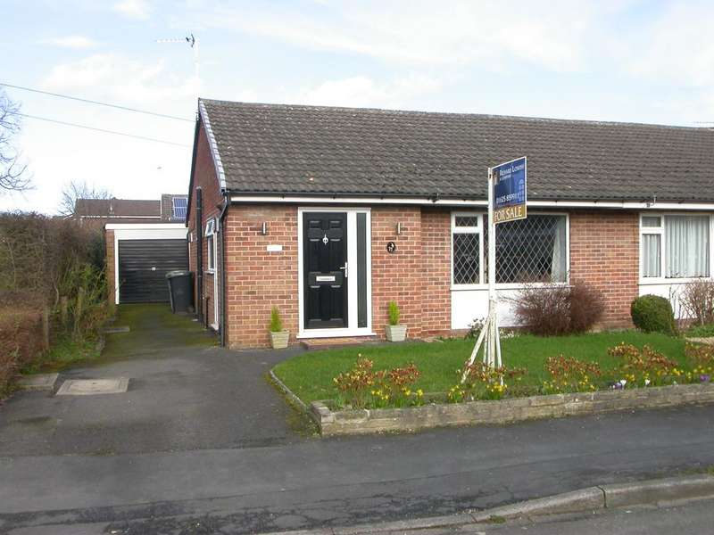 2 Bedrooms Semi Detached Bungalow for sale in POYNTON (MICAWBER ROAD)