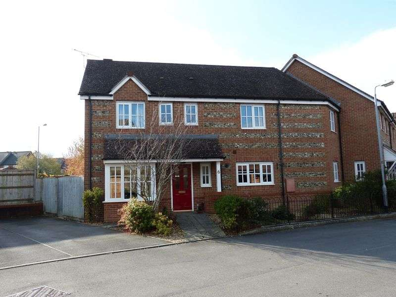 4 Bedrooms Semi Detached House for sale in Pine Walk, Amesbury