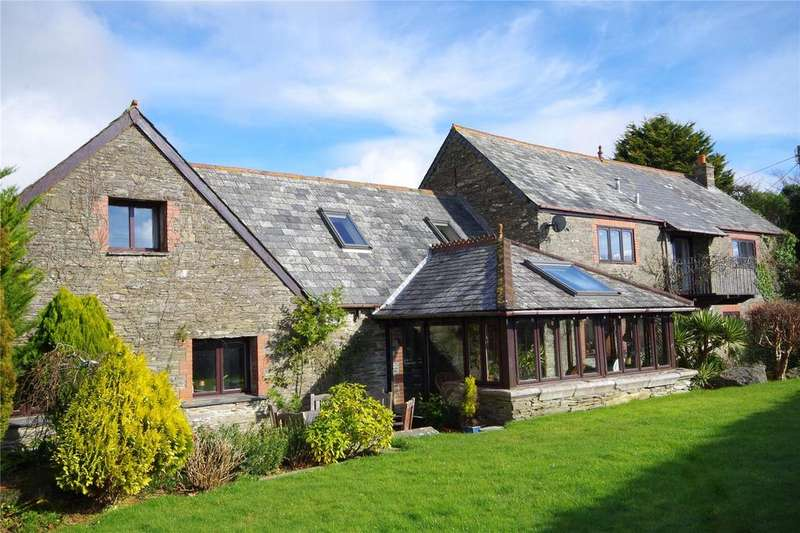 5 Bedrooms Barn Conversion Character Property for sale in Polston Park, Spriddlestone, Plymouth, Devon, PL9