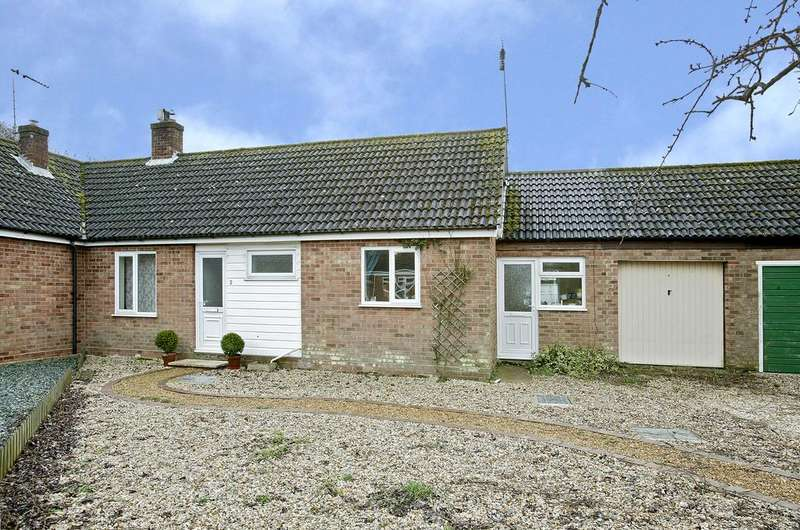 2 Bedrooms Semi Detached Bungalow for sale in Meadow Drive, Gressenhall