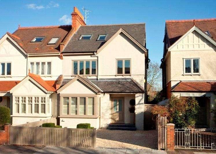 5 Bedrooms Semi Detached House for sale in Glebe Road, Barnes, London, SW13