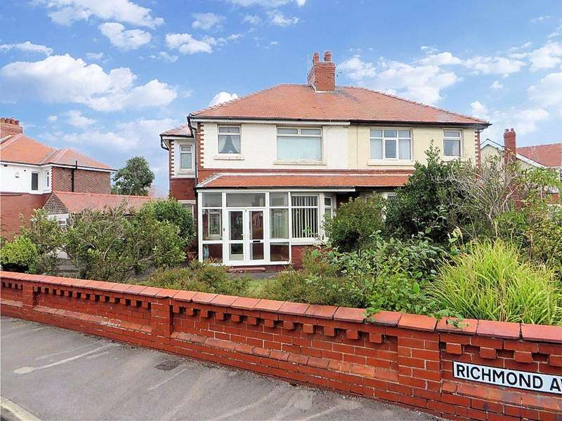 3 Bedrooms Semi Detached House for sale in Richmond Avenue, Thornton-Cleveleys, Lancashire