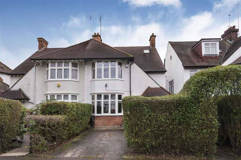 5 Bedrooms Semi Detached House for sale in Corringham Road, NW11