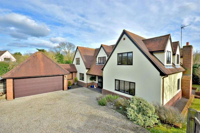 5 Bedrooms Detached House for sale in 5 Longcroft, Hempstead, Nr Saffron Walden