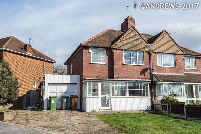 3 Bedrooms Semi Detached House for sale in Cattermole Grove, Great Barr, BIRMINGHAM