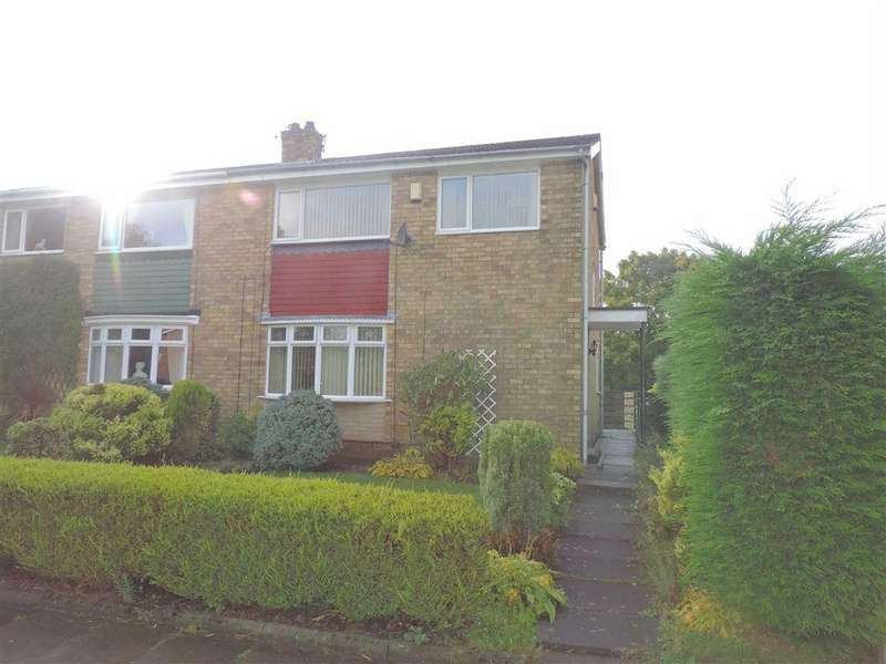3 Bedrooms Semi Detached House for sale in Ancrum Way, Whickham, Newcastle Upon Tyne