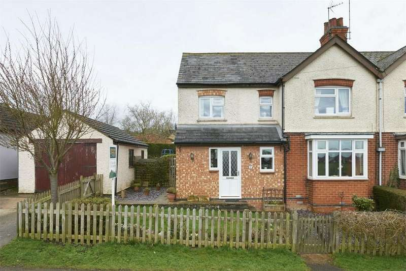 4 Bedrooms Semi Detached House for sale in The Lealand, East Farndon, Market Harborough, Northamptonshire