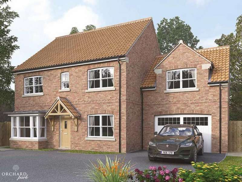 5 Bedrooms Detached House for sale in THE AUSTEN, PLOT 23, ORCHARD PARK, ULLESKELF, LS24 9DW