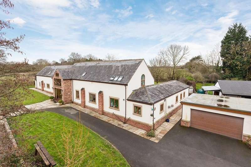 5 Bedrooms Barn Conversion Character Property for sale in Noahs Ark Lane, Mobberley