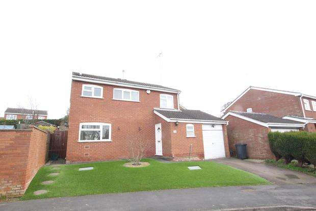3 Bedrooms Detached House for sale in Kipling Drive, Melton Mowbray, LE13