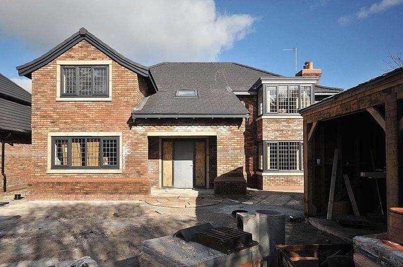 4 Bedrooms Detached House for sale in Goostrey Lane, Cranage