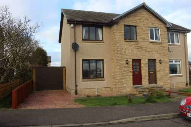 3 Bedrooms Semi Detached House for sale in Link Road, Dunfermline, Fife, KY12 8BF