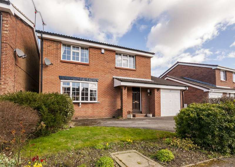 4 Bedrooms Detached House for sale in Long Meadow Road, Alfreton, Derbyshire DE55