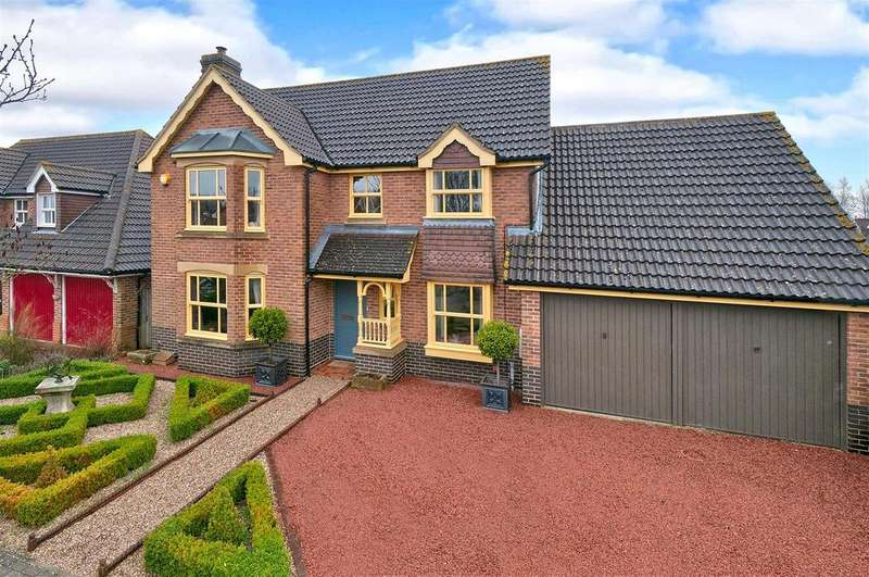 4 Bedrooms Detached House for sale in Stirling Road, Kings Hill, ME19 4RD