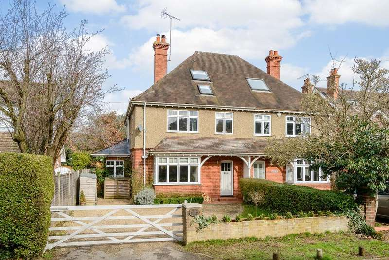 5 Bedrooms Semi Detached House for sale in Northfield Avenue, Lower Shiplake, Henley-On-Thames