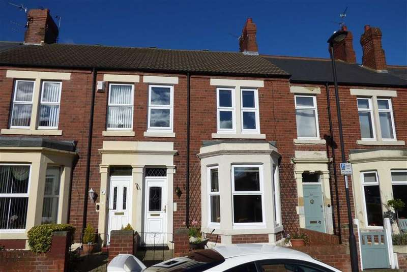 3 Bedrooms Terraced House for sale in Denwick Terrace, Tynemouth