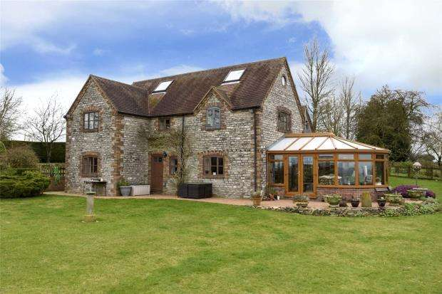 5 Bedrooms Detached House for sale in Perkley House, Bourton Westwood, Much Wenlock, Shropshire