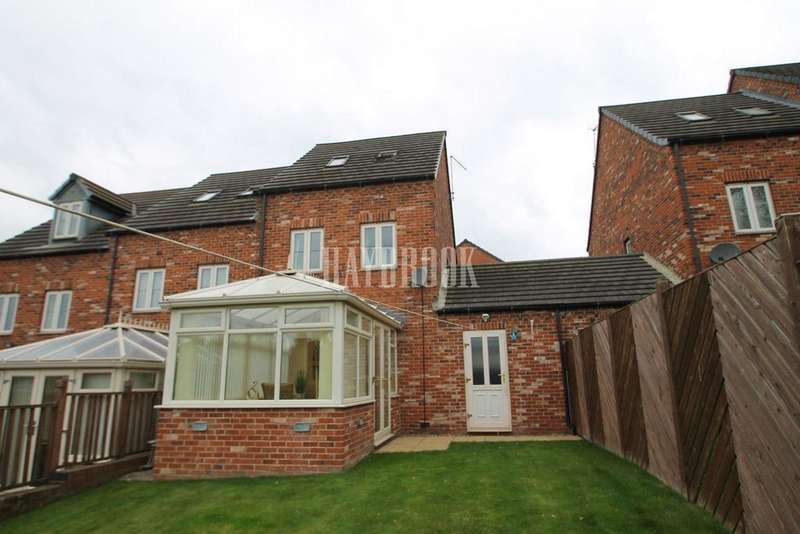 3 Bedrooms End Of Terrace House for sale in Durham Way, Parkgate