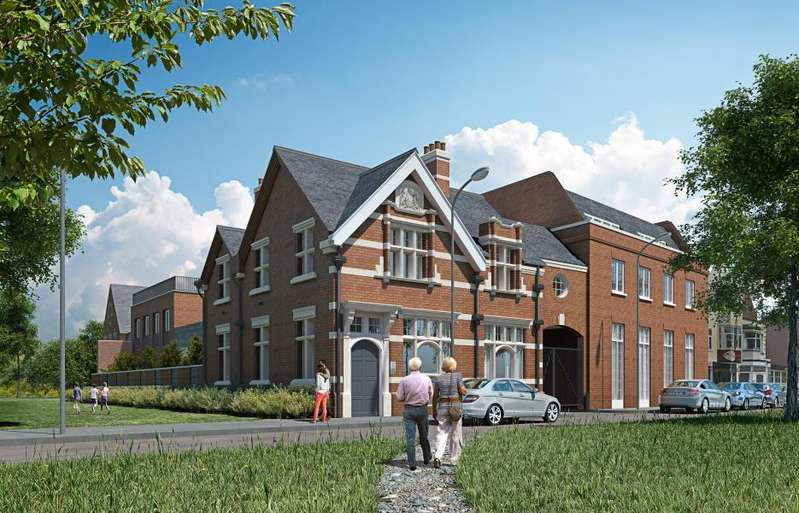 2 Bedrooms Apartment Flat for sale in 8 Post House Apartments, Woodford Green