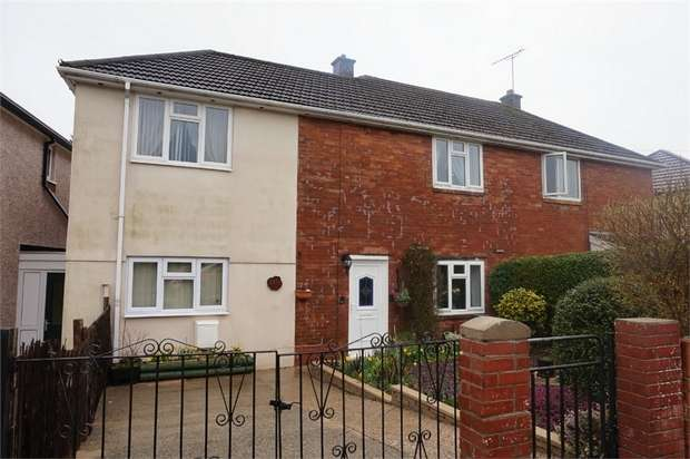 3 Bedrooms Semi Detached House for sale in Old Barn Way, ABERGAVENNY, Monmouthshire