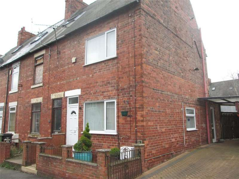 3 Bedrooms End Of Terrace House for sale in Ann Street, Creswell, Worksop, Nottinghamshire, S80