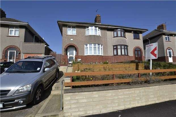 3 Bedrooms Semi Detached House for sale in Monks Park Avenue, Horfield. Bristol, BS7 0UH