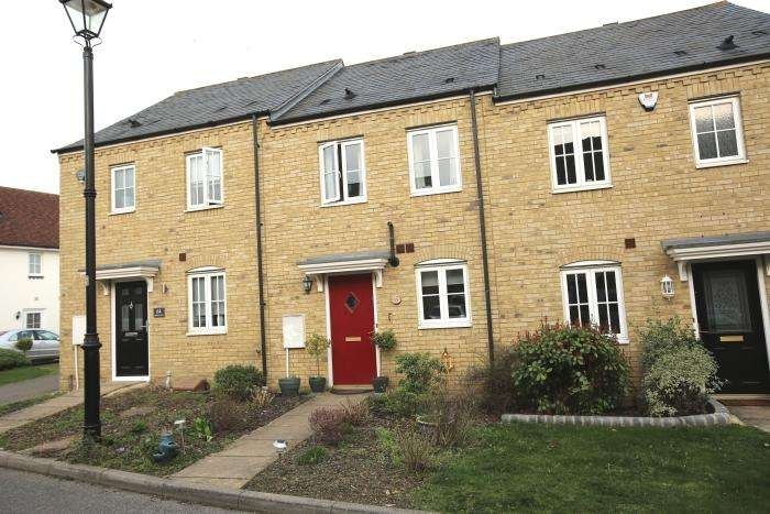 2 Bedrooms Terraced House for sale in THE GABLES, ONGAR CM5