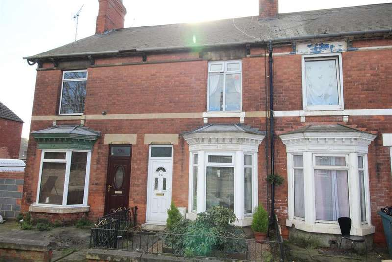 2 Bedrooms Terraced House for sale in Potter Street, Worksop