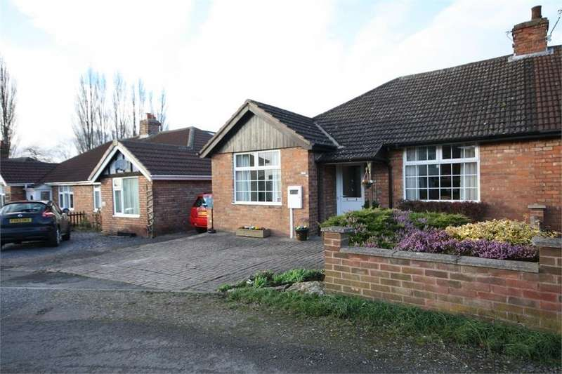 3 Bedrooms Semi Detached Bungalow for sale in Kings Road, MELTON MOWBRAY