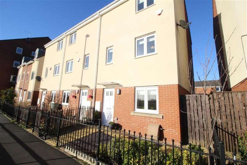 4 Bedrooms Town House for sale in White Swan Close, Newcastle Upon Tyne
