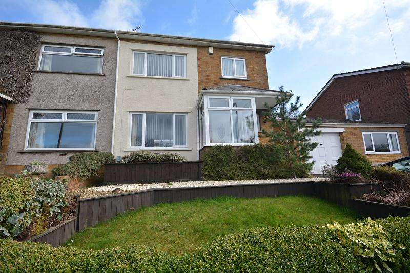 3 Bedrooms Semi Detached House for sale in Ridgeway Road, Rumney, Cardiff, Cardiff. CF3