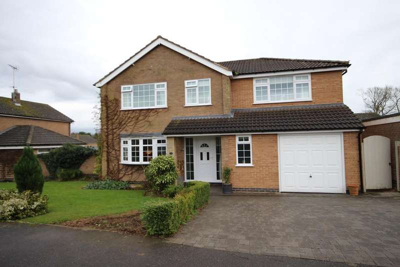 4 Bedrooms Detached House for sale in Willoughby Drive, Empingham