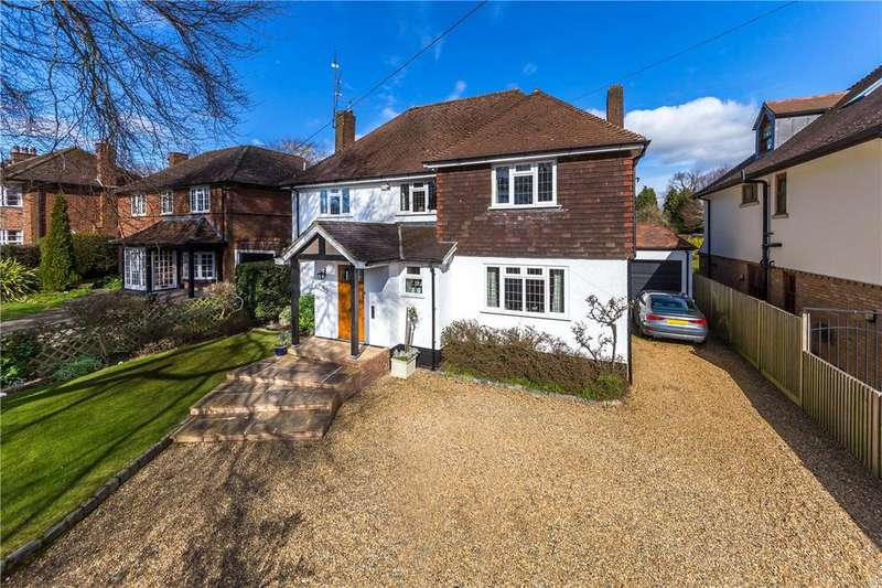 5 Bedrooms Detached House for sale in Marshals Drive, St. Albans, Hertfordshire