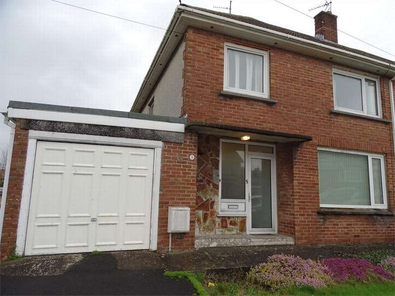 3 Bedrooms Semi Detached House for sale in 5 Cae Cotton, Llanelli, Carmarthenshire