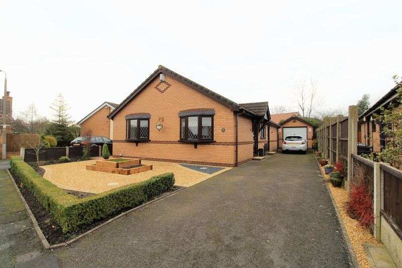 2 Bedrooms Detached Bungalow for sale in Holly Grove, Tarleton, Preston