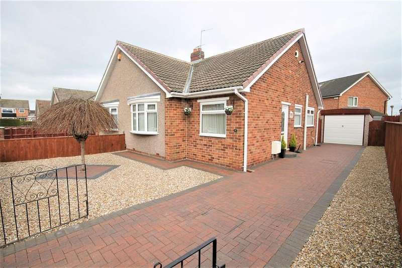 2 Bedrooms Semi Detached Bungalow for sale in Fordwell Road, Stockton-On-Tees